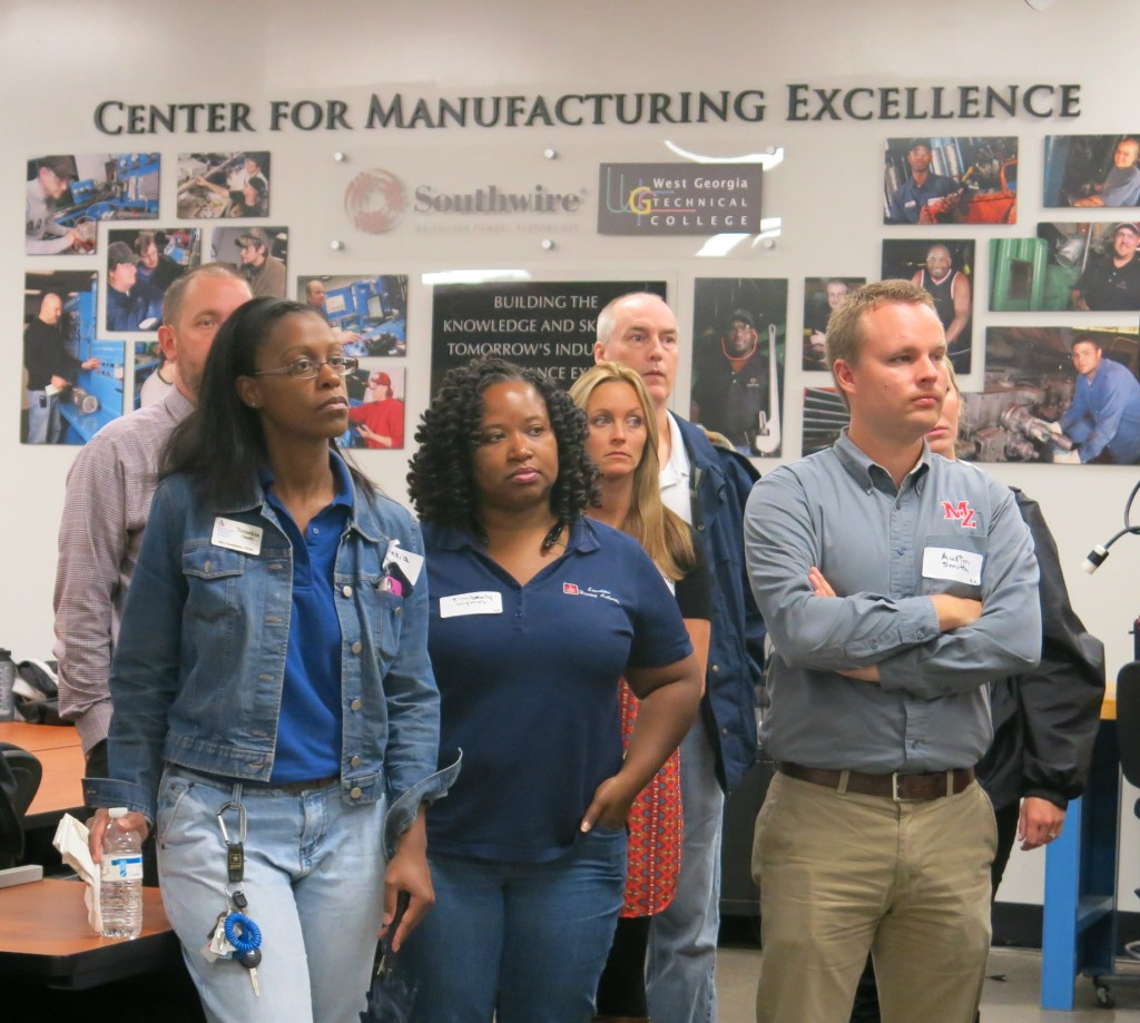 greater west joint development authority carroll county teachers from carroll county schools and carrollton city schools ed west technical college s center for manufacturing excellence as part of the